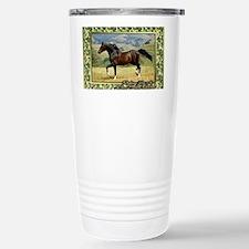 Morgan Horse Christmas Stainless Steel Travel Mug