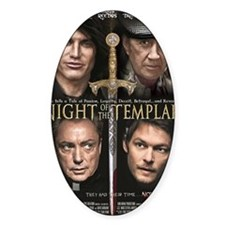 Night of the Templar 11x17 Small Bl Decal