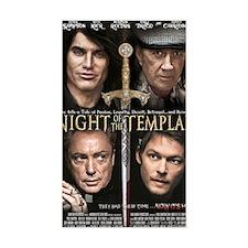 Night of the Templar Black Pos Decal