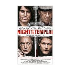 NIGHT OF THE TEMPLAR WHITE POS Decal