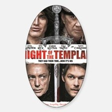 NIGHT OF THE TEMPLAR WHITE POSTER N Decal