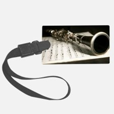 Clarinet and Music Case Laptop S Luggage Tag
