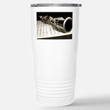 Clarinet and Music Case Travel Mug