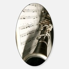Clarinet and Music Case Decal