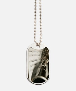 Clarinet and Music Case Dog Tags
