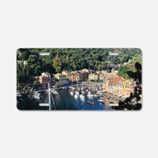 Portofino overview Aluminum License Plate