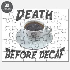 Death Before Decaf Coffee Puzzle