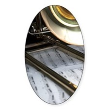 Trombone Music and Notes iPhone Cas Decal