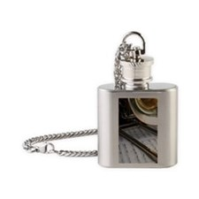 Trombone Music and Notes iPhone Cas Flask Necklace