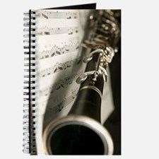 Clarinet and Musc Flip Flops Band Journal