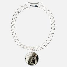 Clarinet and Musc Flip F Charm Bracelet, One Charm