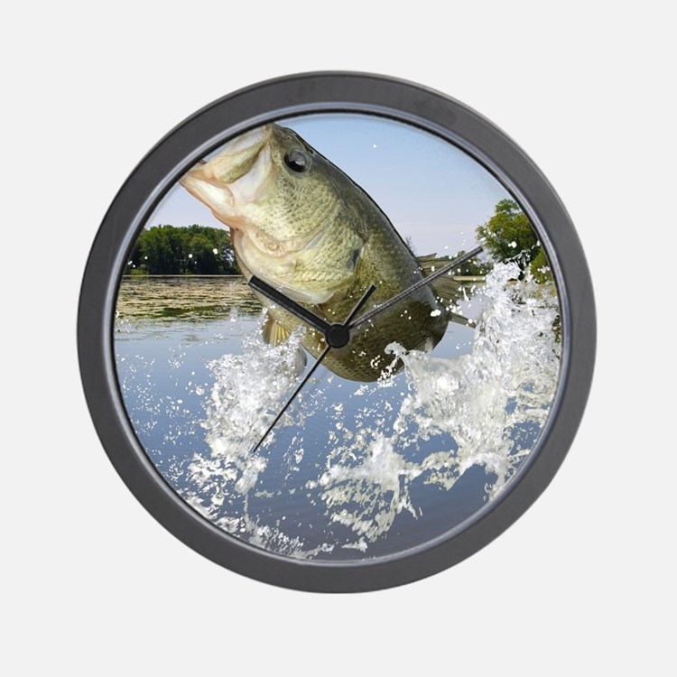 Miss Bass Wall Clock