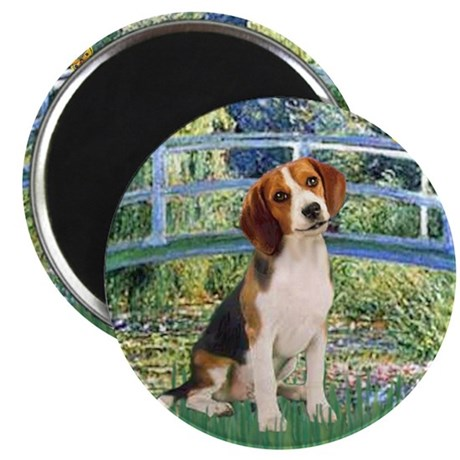 Bridge & Beagle Magnet