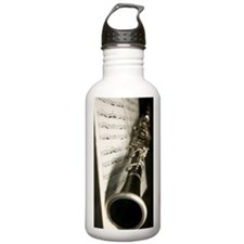 Clarinet and Music ban Water Bottle