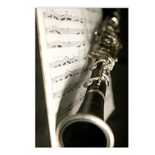 Clarinet and Music band J Postcards (Package of 8)