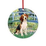 Bridge & Beagle Ornament (Round)