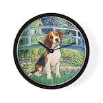 Bridge & Beagle Wall Clock