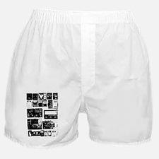 Pedal Board black Boxer Shorts