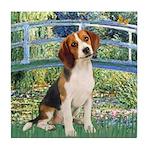 Bridge & Beagle Tile Coaster