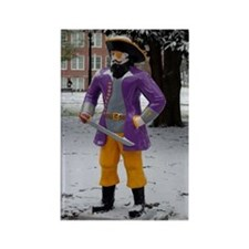 Snow Pirate Rectangle Magnet