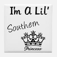 Lil' Southern Princess Tile Coaster