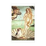 Venus & Beagle Sticker (Rectangle)