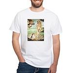 Venus & Beagle White T-Shirt