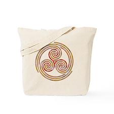 Triple Spiral - 6 Tote Bag