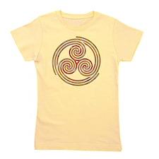 Triple Spiral - 6 Girl's Tee
