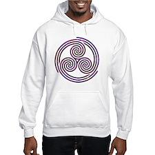 Triple Spiral - 11 Hoodie