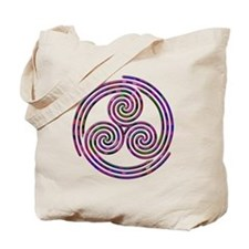 Triple Spiral - 11 Tote Bag