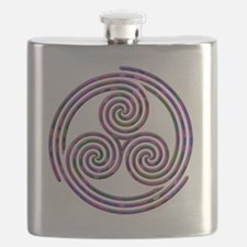 Triple Spiral - 11 Flask