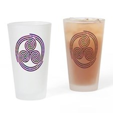 Triple Spiral - 11 Drinking Glass