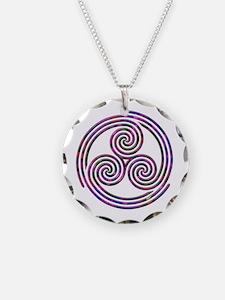 Triple Spiral - 11 Necklace
