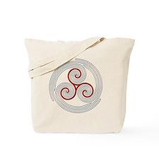 Triple Spiral - 8 Tote Bag