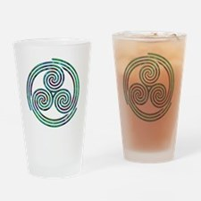 Triple Spiral - 7 Drinking Glass