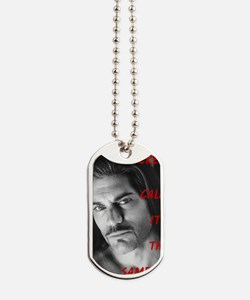 Screw Calm Its The Sampson #8 Dog Tags