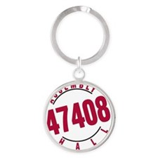 Assembly Hall 47408 Round Keychain