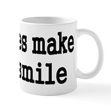 boobies make me smile Mug