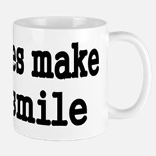 boobies make me smile Mug