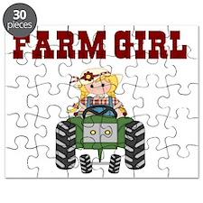 FARM GIRL Puzzle