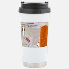 Yoga Pranayama Stainless Steel Travel Mug