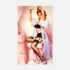 Dress Up Pin Up Decal