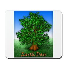 Earth Day Tree Mousepad