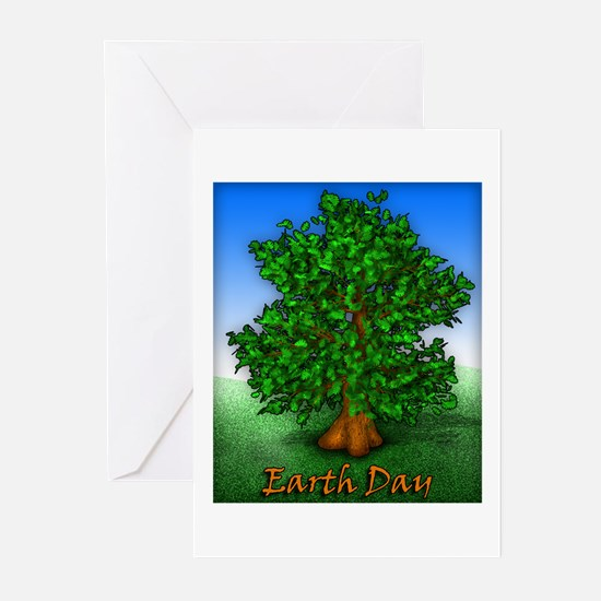 Earth Day Tree Greeting Cards (Pk of 10)