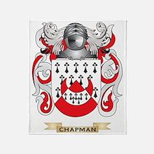Chapman Coat of Arms Throw Blanket
