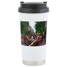 Flower Garden by Anna R Travel Coffee Mug