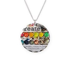 Create Necklace Circle Charm