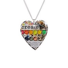 Create Necklace Heart Charm