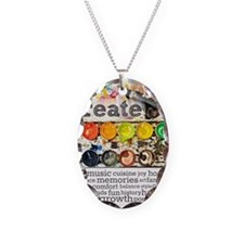 Create Necklace Oval Charm